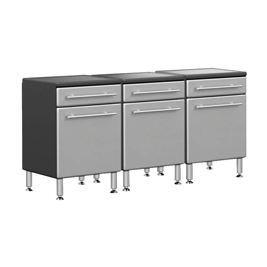 Ulti-Mate 70.8-in W x 35-in H Grey Garage Storage System