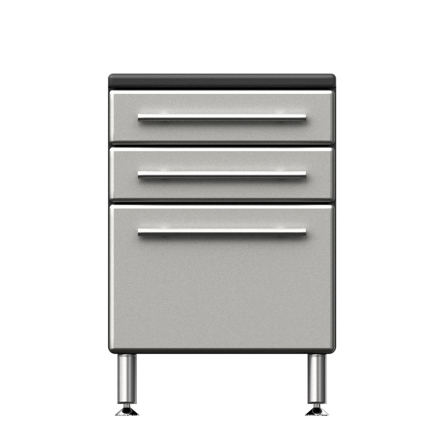 Ulti-Mate Garage PRO 23.6-in W x 35-in H x 21-in D Wood Composite Freestanding Garage Cabinet
