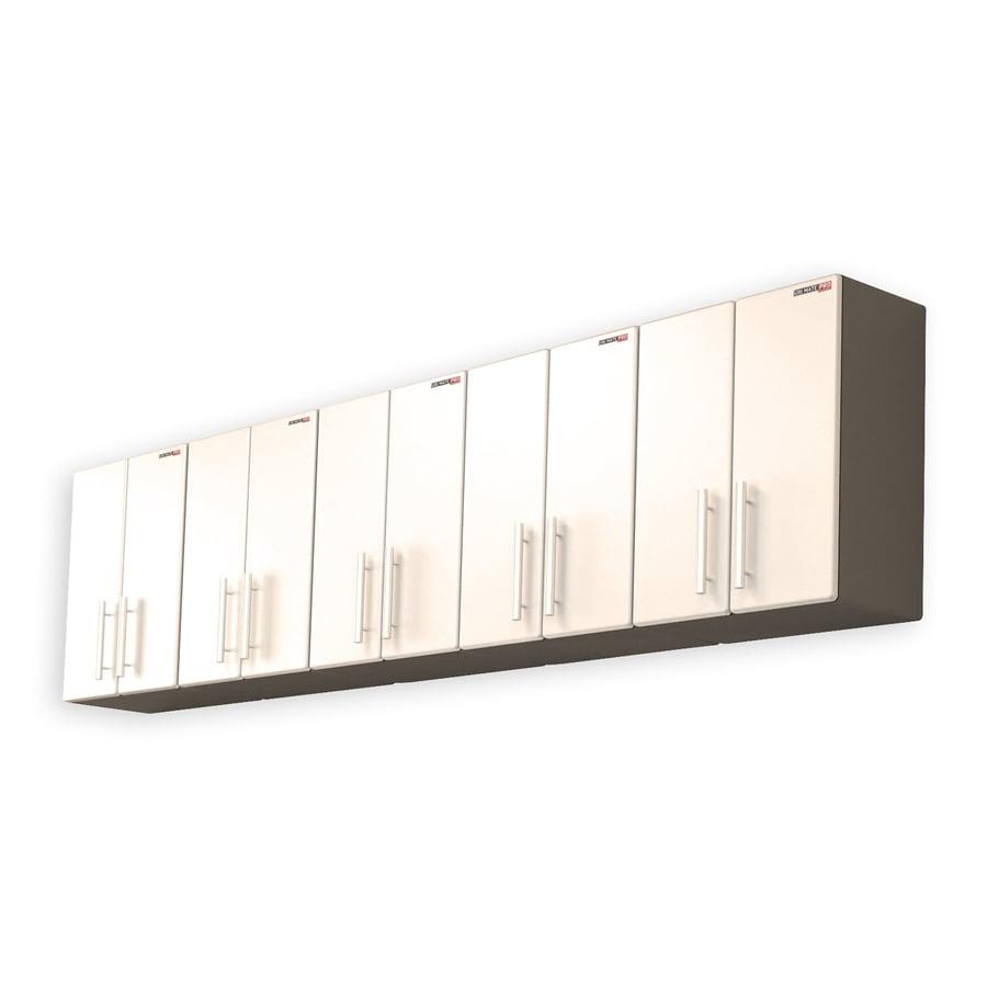 Ulti-Mate 118-in W x 30.7-in H Silver Garage Storage System