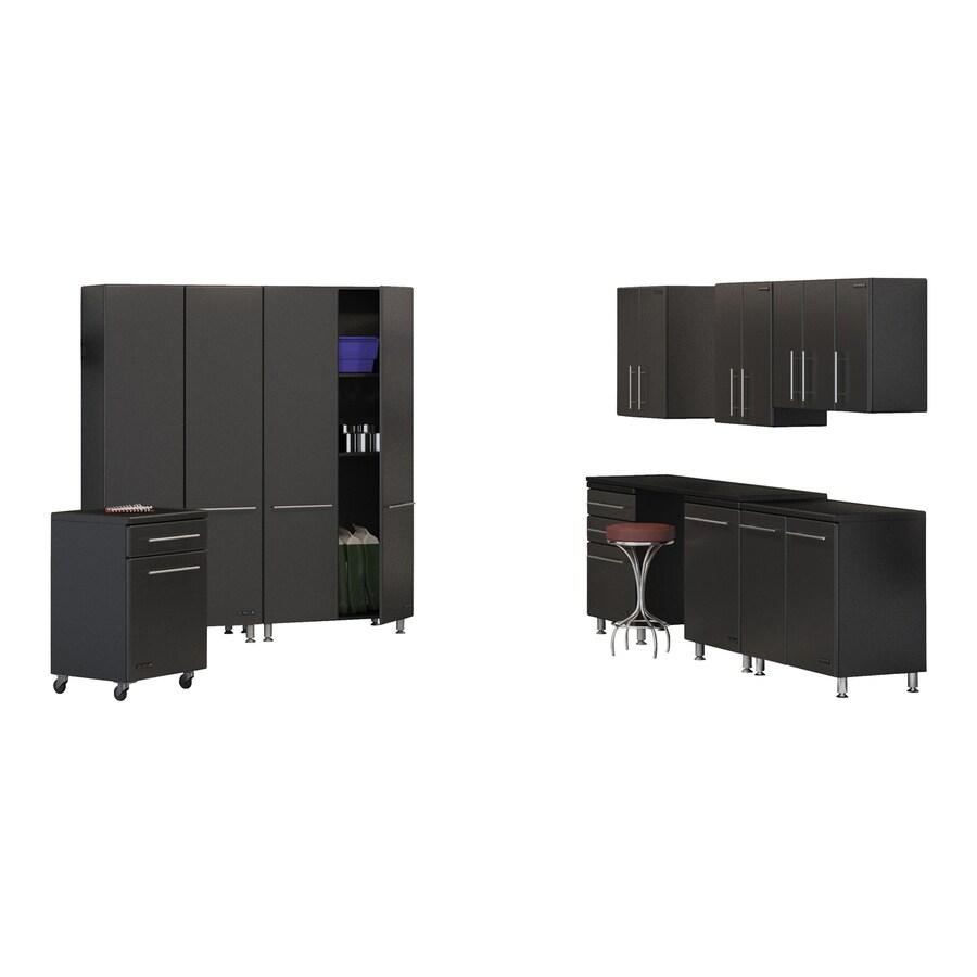 Ulti-Mate 246.25-in W x 80-in H Graphite Grey Garage Storage System