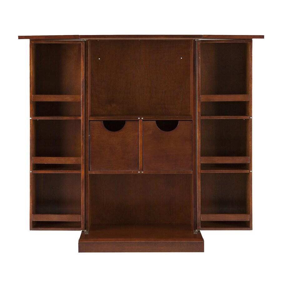 Boston Loft Furnishings Harvey 44-in x 39.25-in Rectangle Cabinet Bar