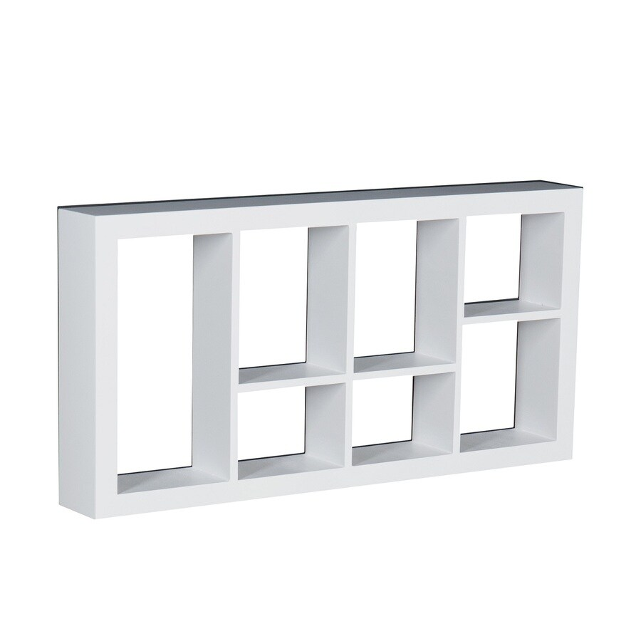 Boston Loft Furnishings 24-in W x 12-in H x 3-in D Wall Mounted Shelving
