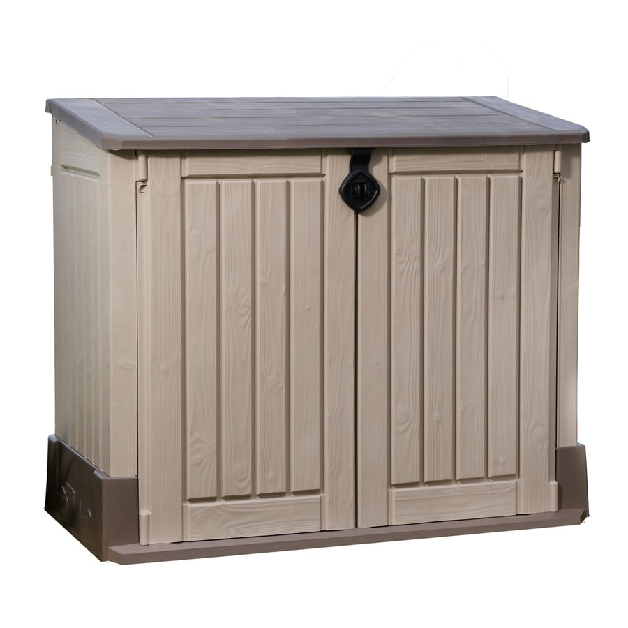 Garden Sheds 3 X 4 shop keter woodland lean-to storage shed (common: 4-ft x 2-ft