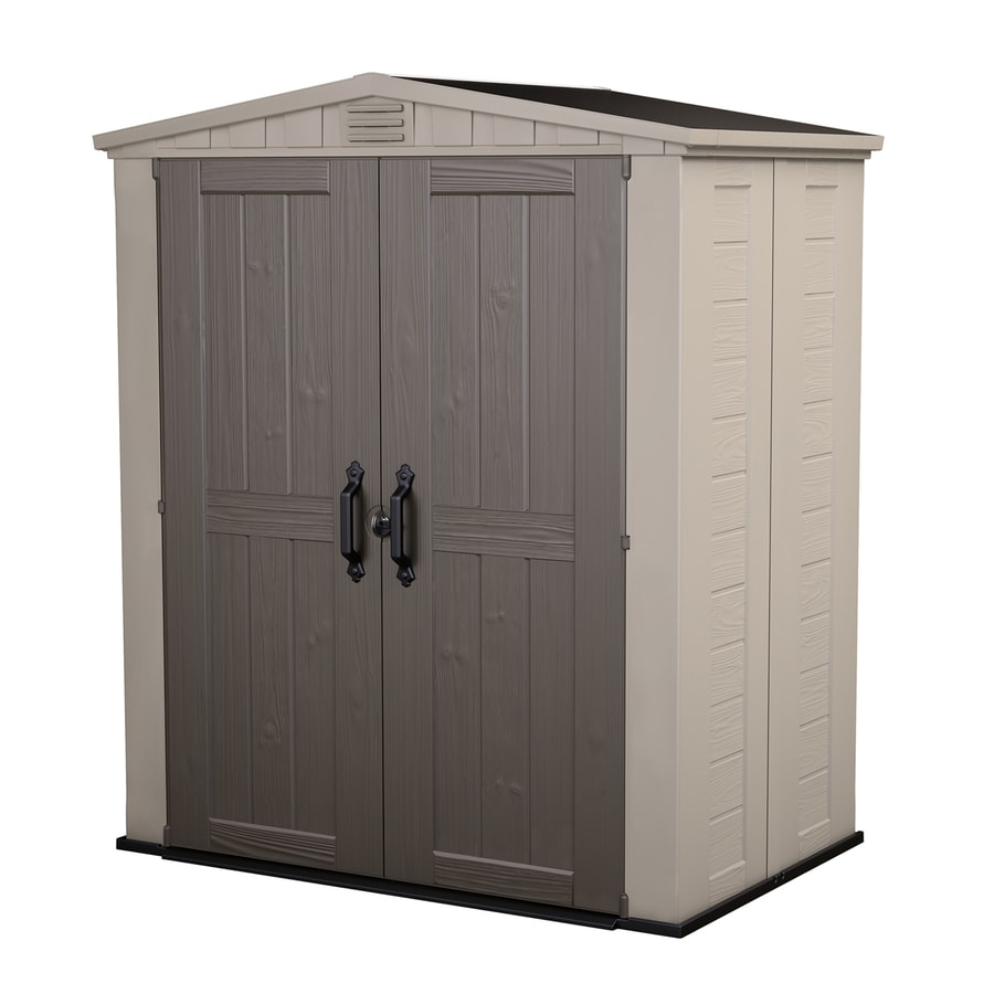 shop keter factor gable storage shed common 6 ft x 3 ft actual