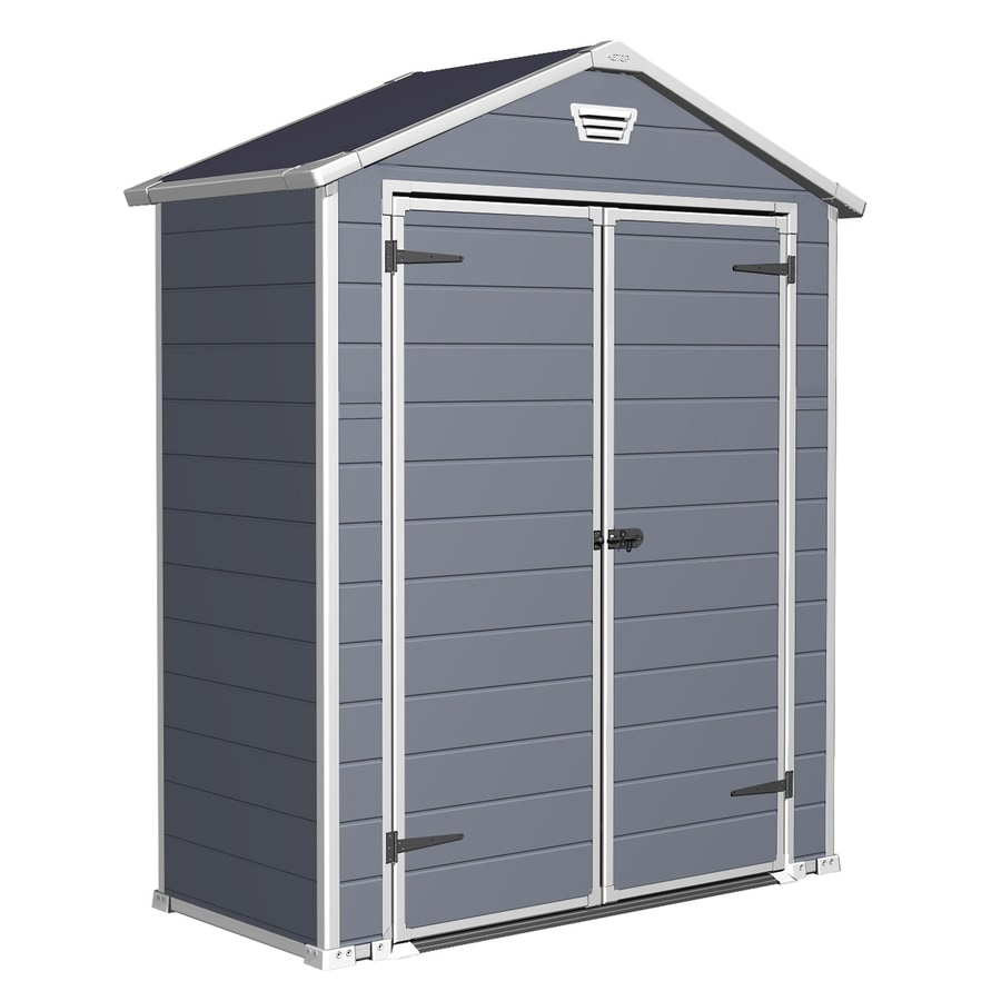 keter manor gable storage shed common 6 ft x 3 ft