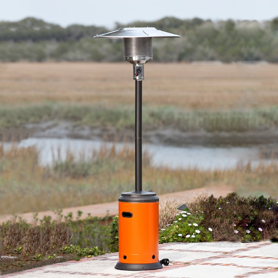 Fire Sense 46000-BTU Tuscan Orange Liquid Propane Patio Heater