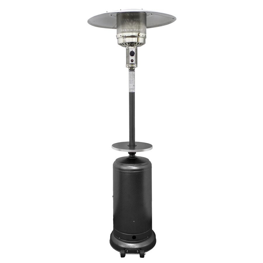 AZ  Patio 41000-BTU Hammered Silver Steel Floorstanding Liquid Propane Patio Heater