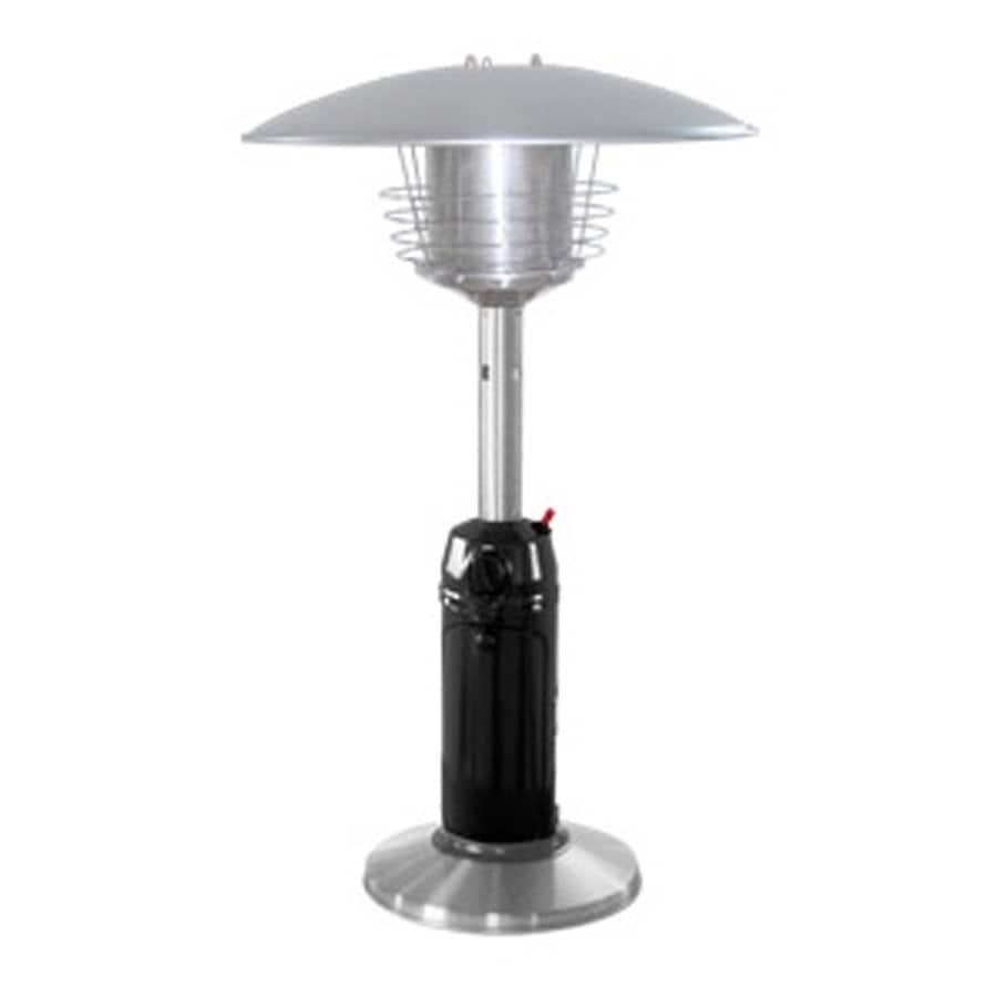 AZ  Patio 11000-BTU Black Stainless Steel Tabletop Liquid Propane Patio Heater