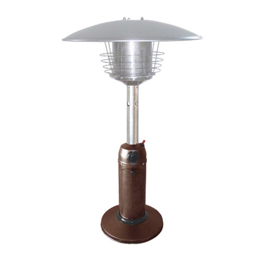 AZ  Patio 11000-BTU Hammered Bronze Steel Tabletop Liquid Propane Patio Heater