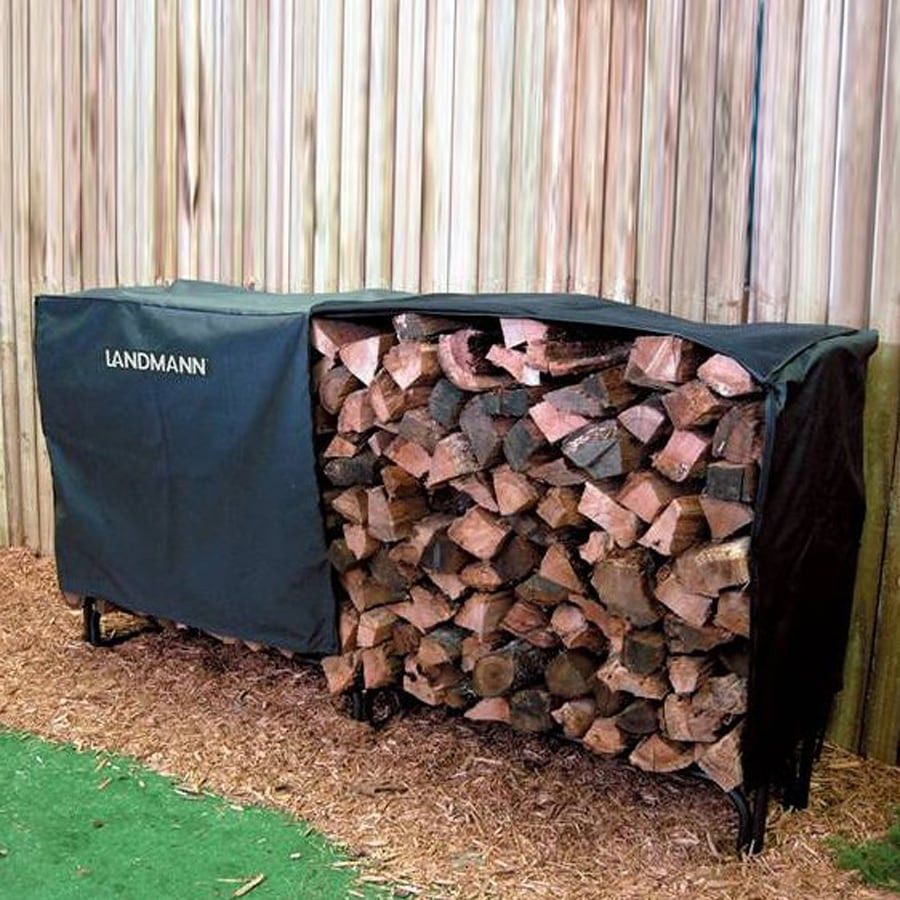 Landmann USA 24-in L x 97.5-in W x 37.5-in H Polyester Firewood Cover