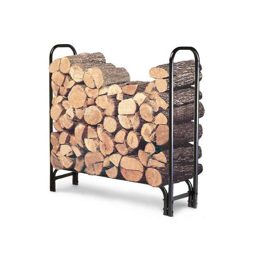 Landmann USA 49-in x 47.5-in x 13.5-in Metal Firewood Rack
