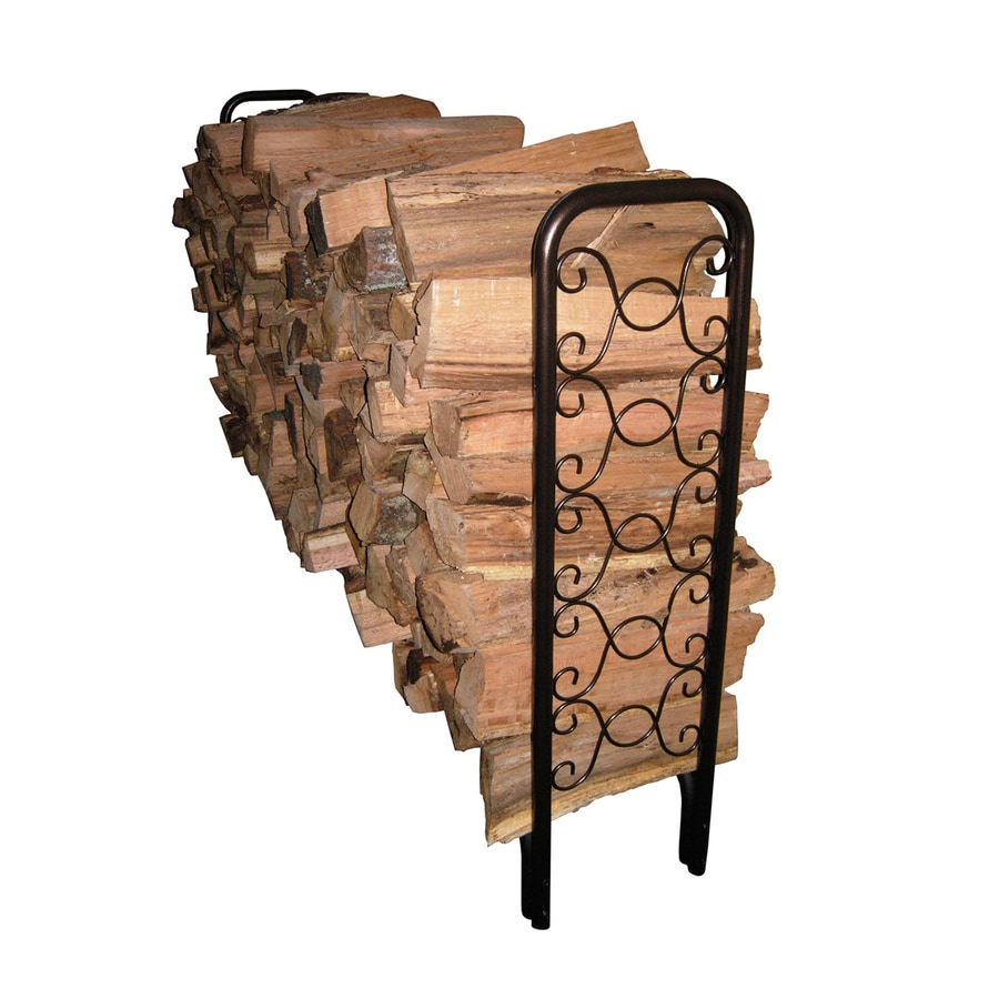 Landmann USA 49-in x 95.5-in x 13.5-in Metal Firewood Rack