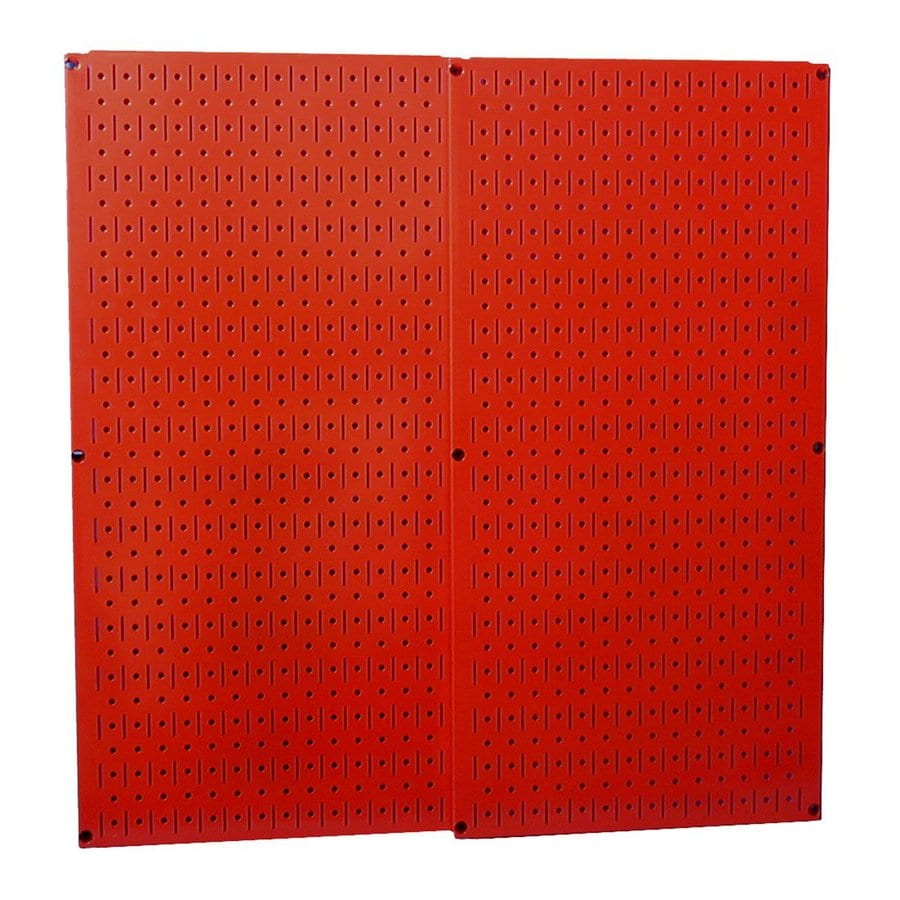 Wall Control 2-Piece Steel Pegboards (Actual: 16-in x 32-in)