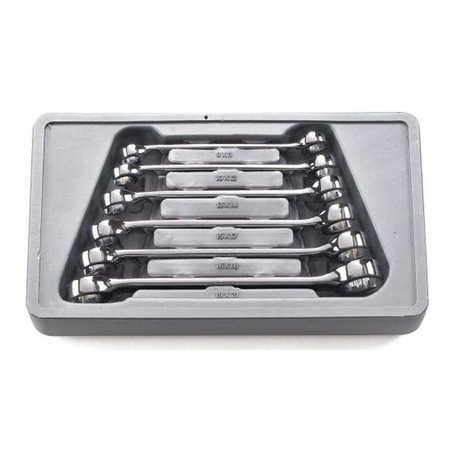 KD Tools 6-Piece Polished Chrome Metric Wrench Set