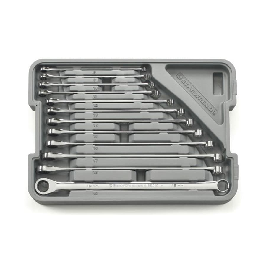 KD Tools 12-Piece Metric Ratchet Wrench Set with Case