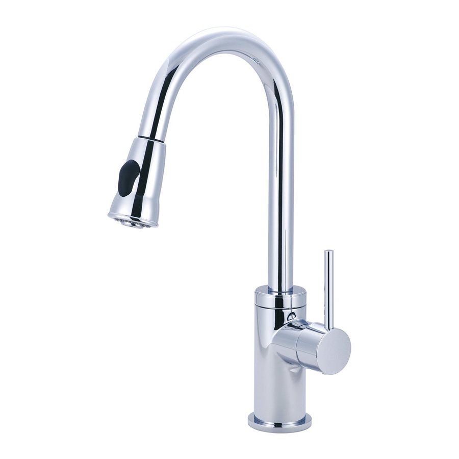 Pioneer Industries Motegi Polished Chrome 1-Handle Pull-Down Kitchen Faucet