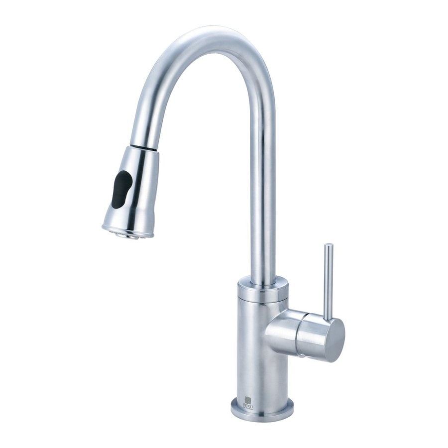 Pioneer Industries Motegi Stainless Steel 1-Handle Pull-Down Kitchen Faucet