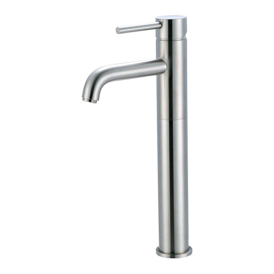Pioneer Industries Motegi Brushed Nickel 1-Handle Single Hole WaterSense Bathroom Faucet