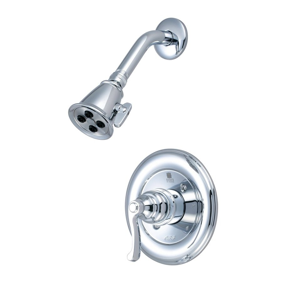 Pioneer Industries Brentwood 1.75-GPM (6.6-LPM) Polished Chrome 2-Spray WaterSense Showerhead