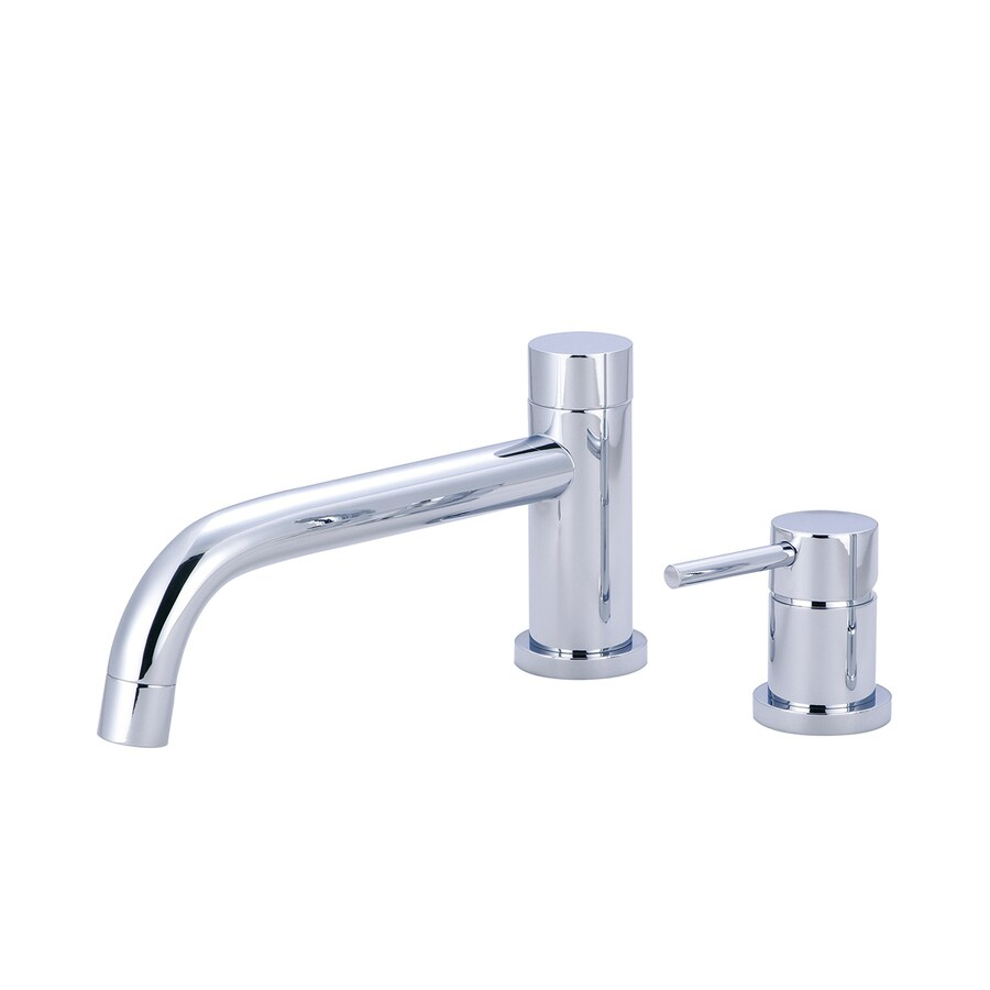 Pioneer Industries Motegi Polished Chrome 1-Handle Adjustable Deck Mount Bathtub Faucet