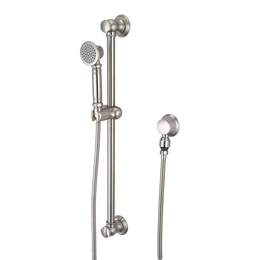 Pioneer Industries Americana Brushed Nickel 1-Spray Shower Head