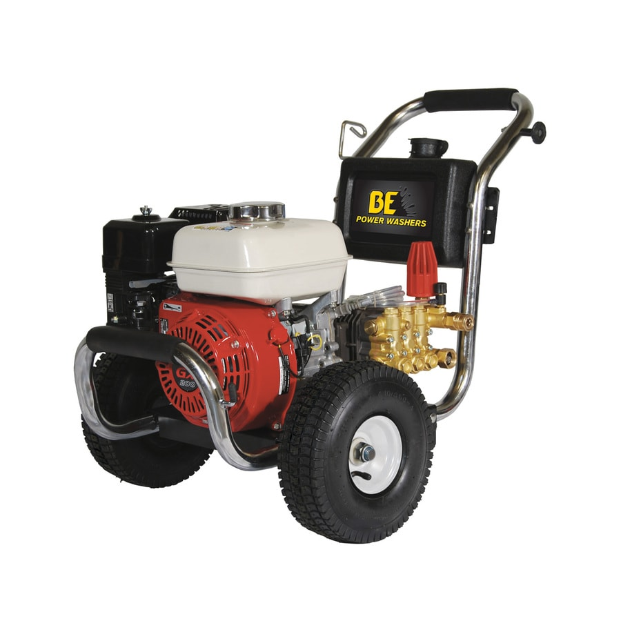BE Pressure 2700-PSI 3-GPM Cold Water Gas Pressure Washer CARB