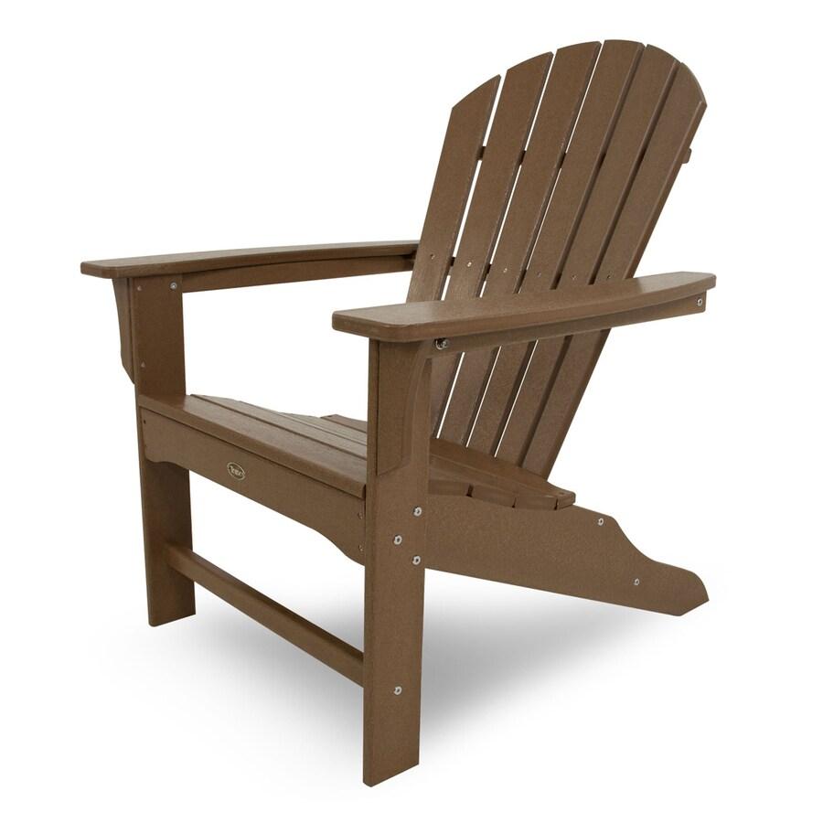 Trex Outdoor Furniture Set of 4 Cape Cod Tree House Plastic Adirondack Chair