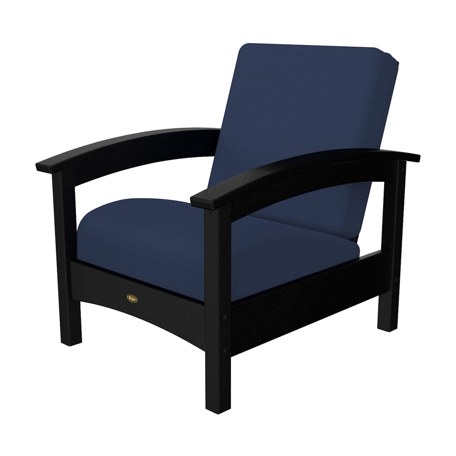 Shop Trex Outdoor Furniture Rockport Charcoal Black