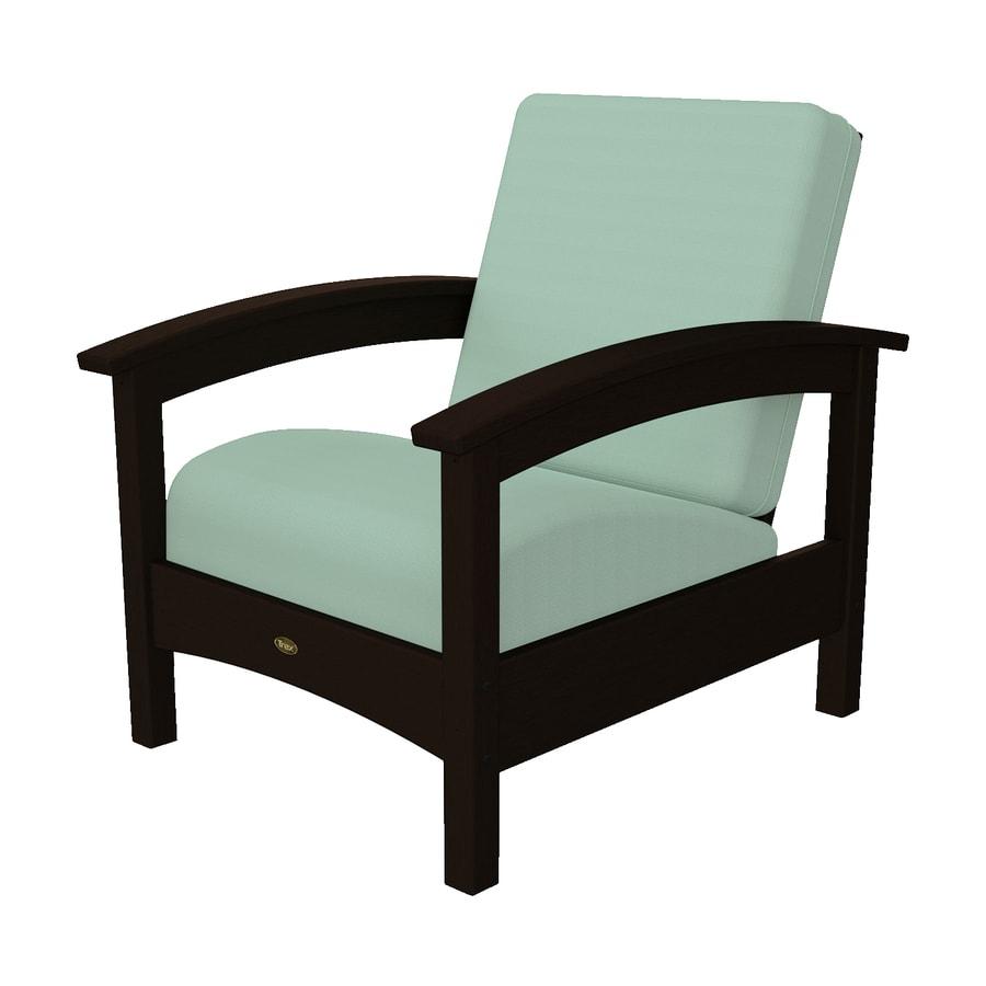 Trex Outdoor Furniture Rockport Vintage Lantern/Canvas Spa Plastic Patio Conversation Chair