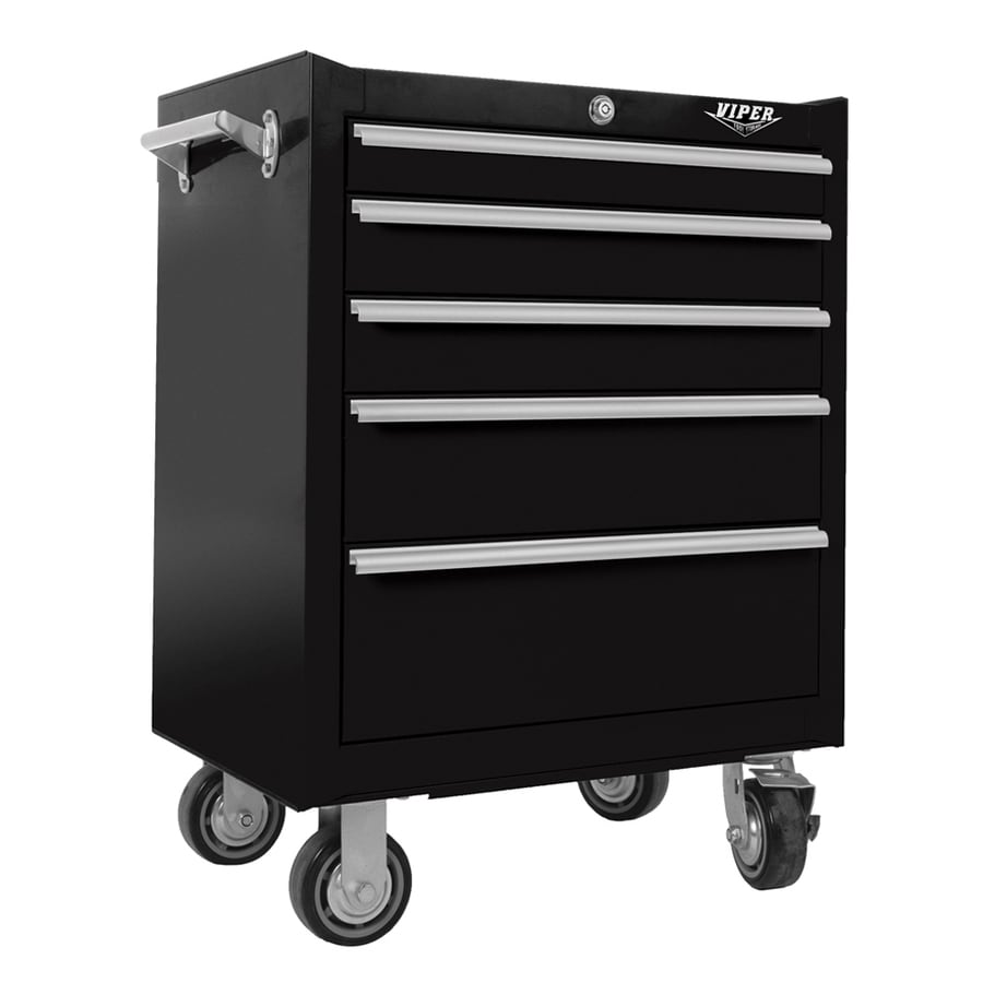 Shop Viper Tool 26-in W x 35.5-in H 5-Drawer Ball-bearing ...