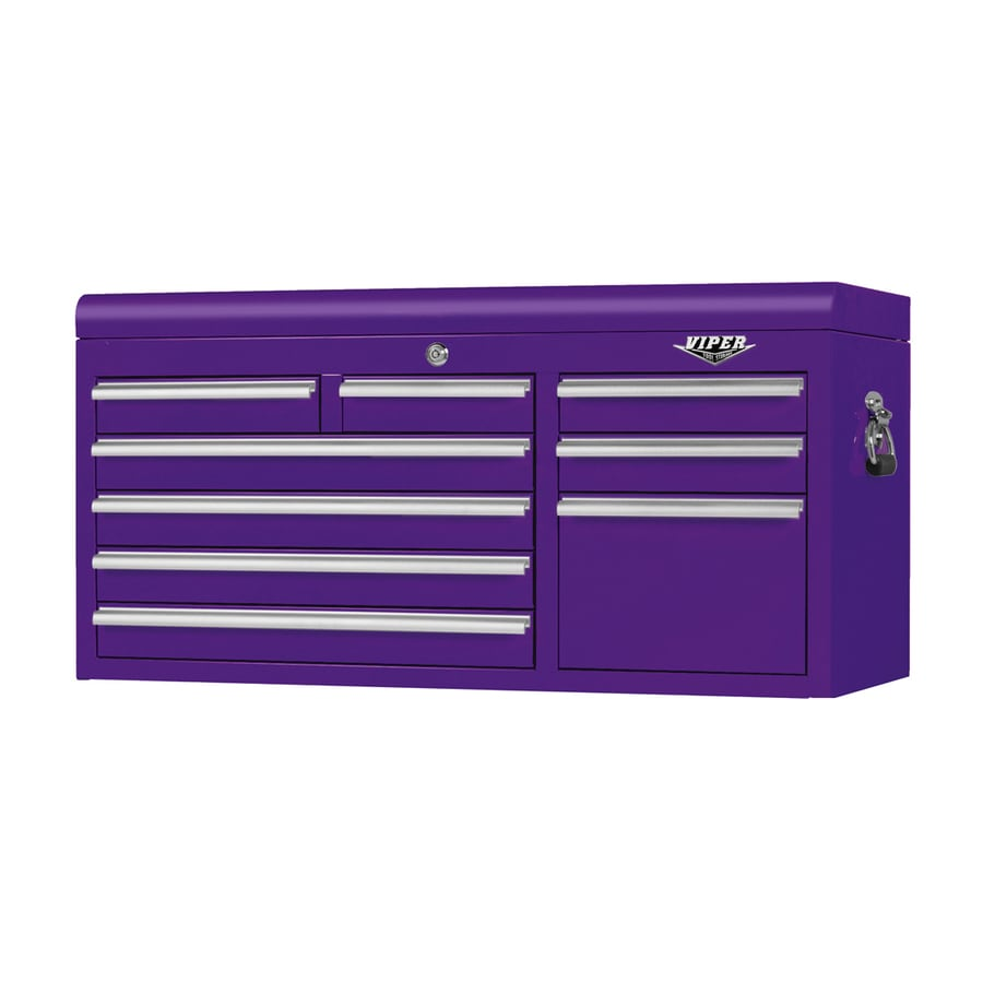 Ordinaire Viper Tool 22 In X 41 In 9 Drawer Ball Bearing Steel