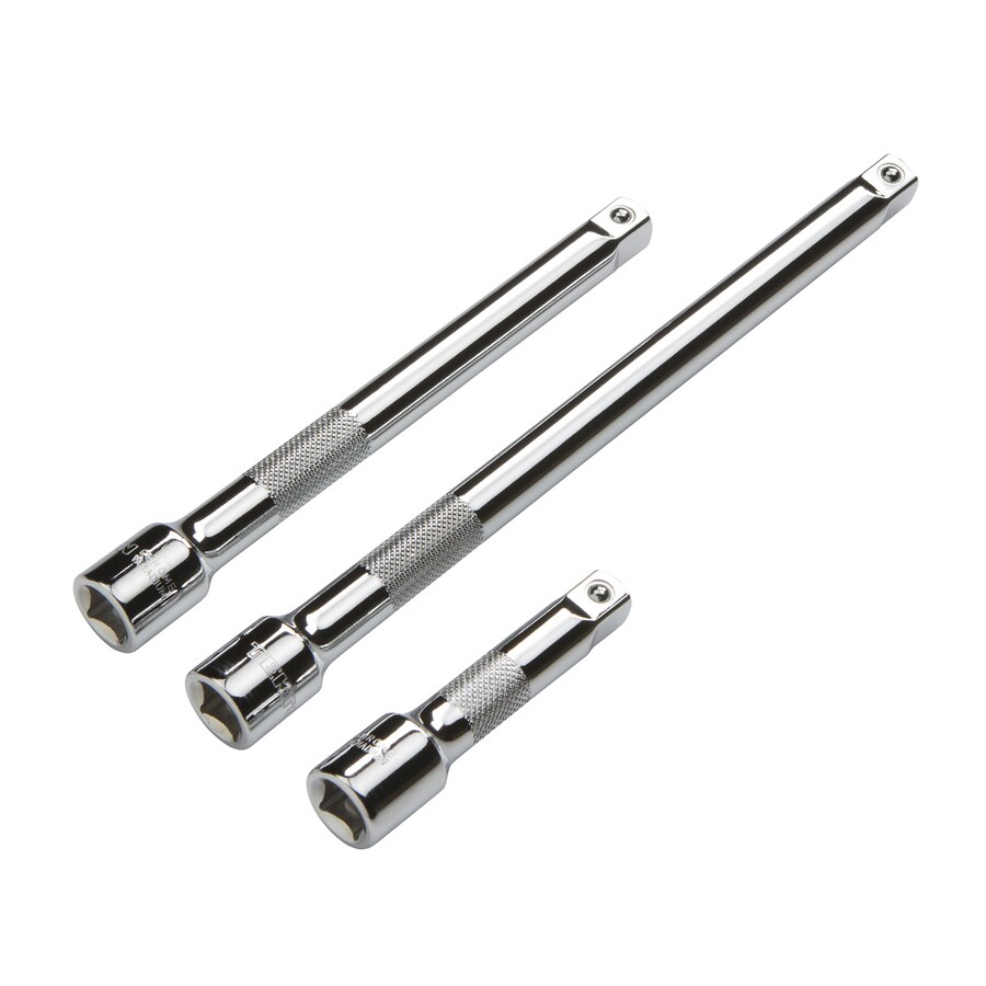 TEKTON 3-Piece 3/8-in Drive Locking Socket Extensions