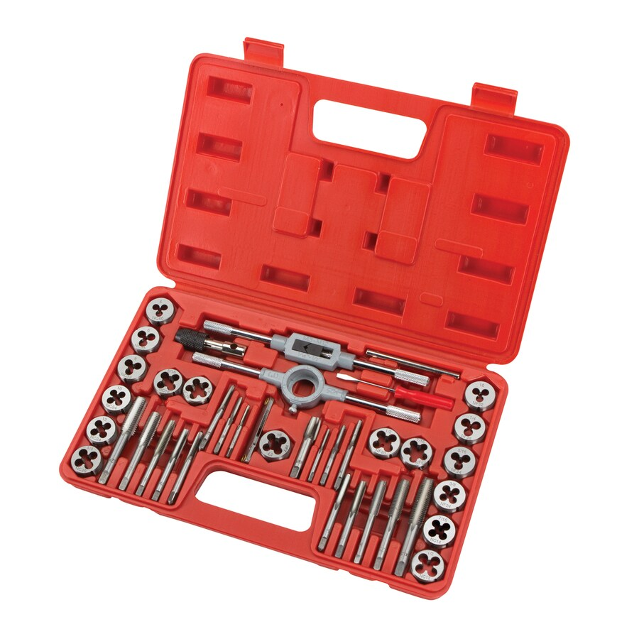 TEKTON 39-Piece SAE Tap and Die Set