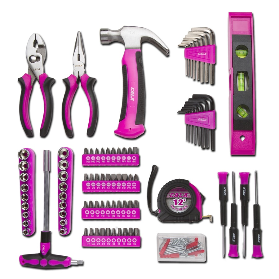 Cala 139-Piece Household Tool Set with Hard Case