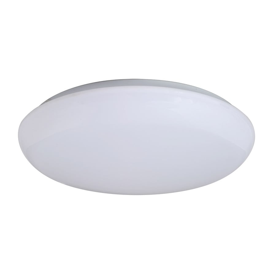 Amax Lighting 19-in W White LED Ceiling Flush Mount Light