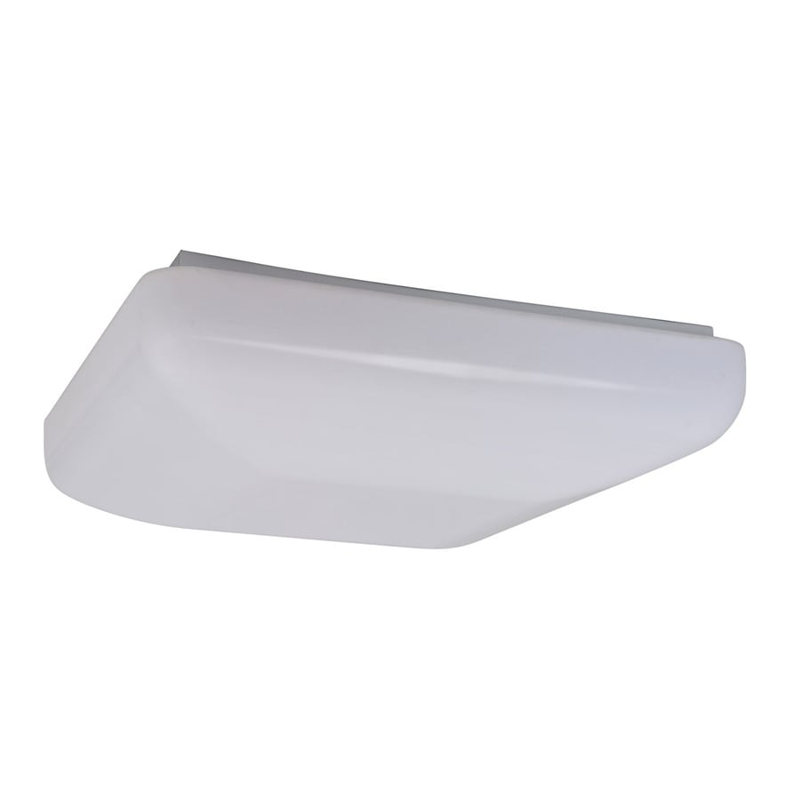 Amax Lighting 19.5-in W White LED Ceiling Flush Mount Light