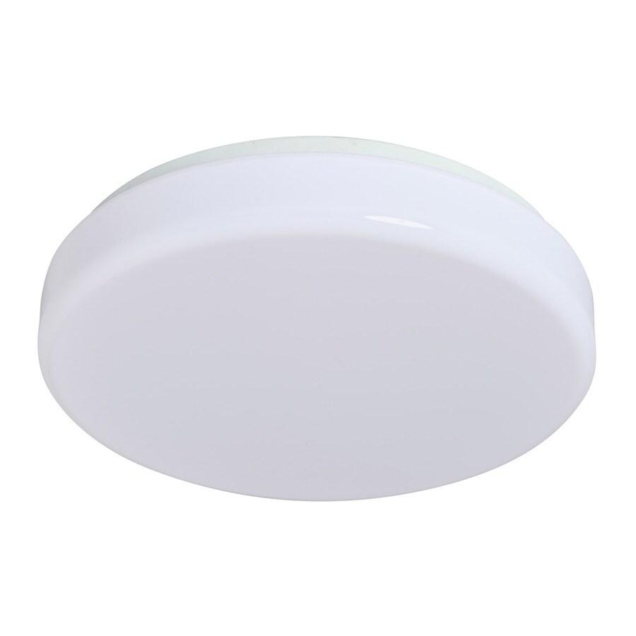 Amax Lighting 14-in W White LED Ceiling Flush Mount Light