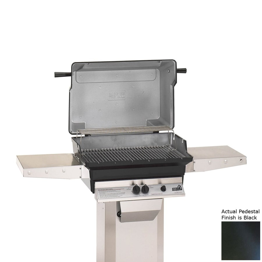 PGS A Series Black 2-Burner Natural Gas Grill
