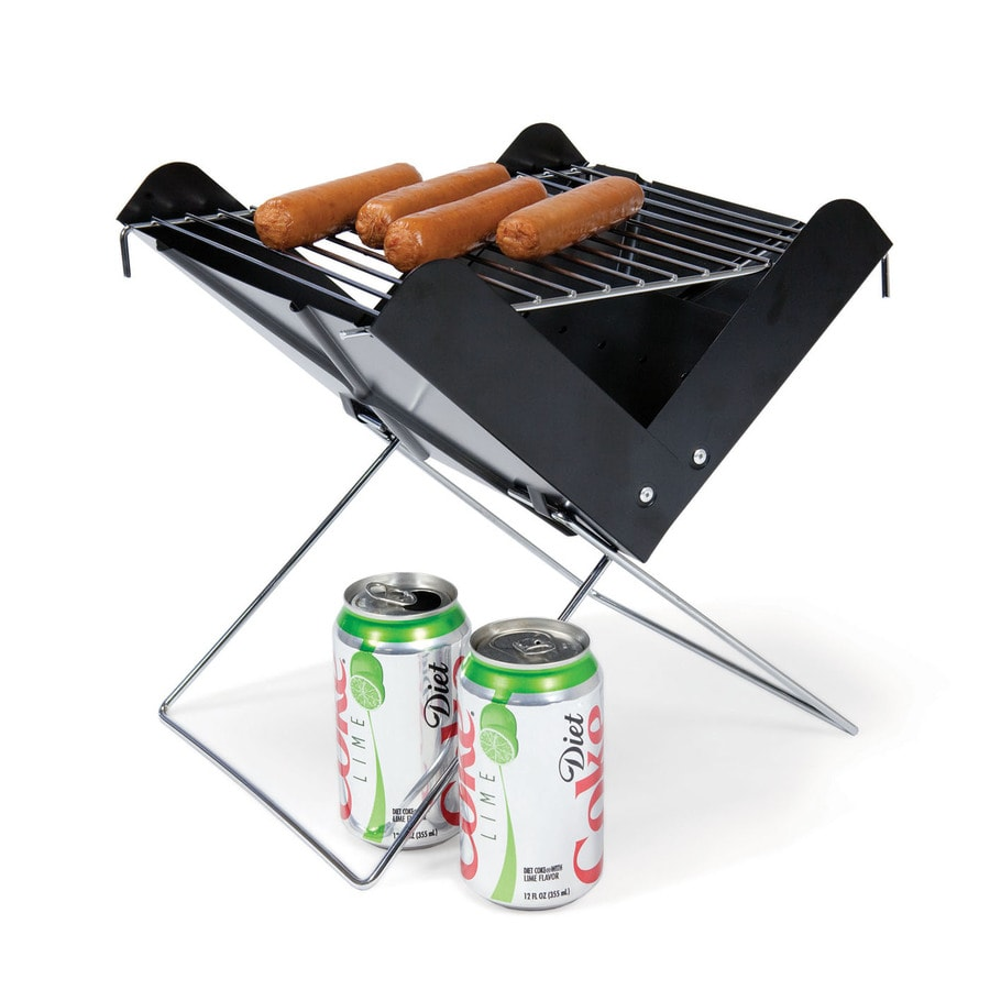Picnic Time V-Grill 115-sq in Portable Charcoal Grill