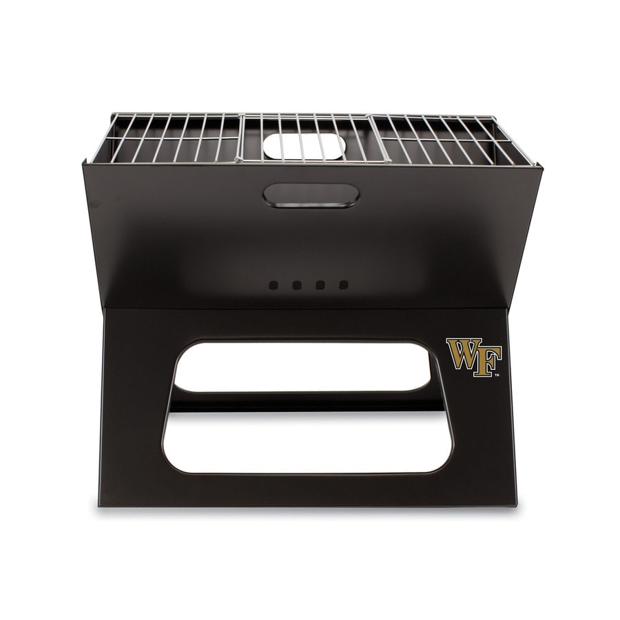 Picnic Time 203.5 Sq.-in Wake Forest Demon Deacons Portable Charcoal Grill