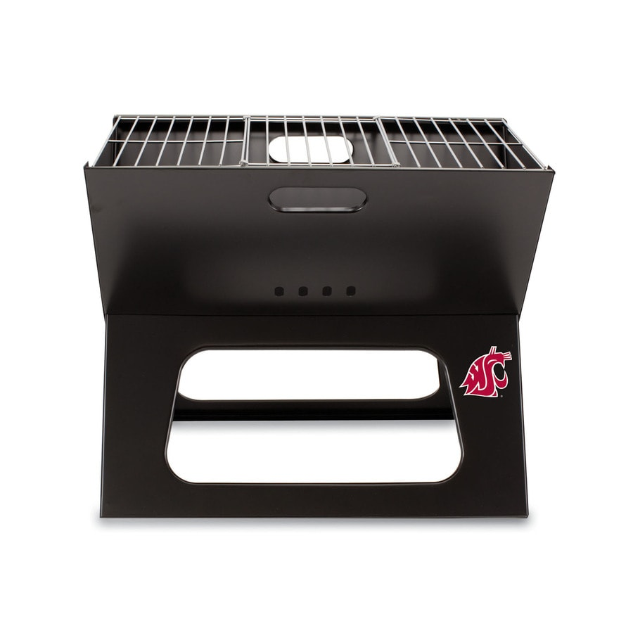 Picnic Time 203.5 Sq.-in Washington State Cougars Portable Charcoal Grill