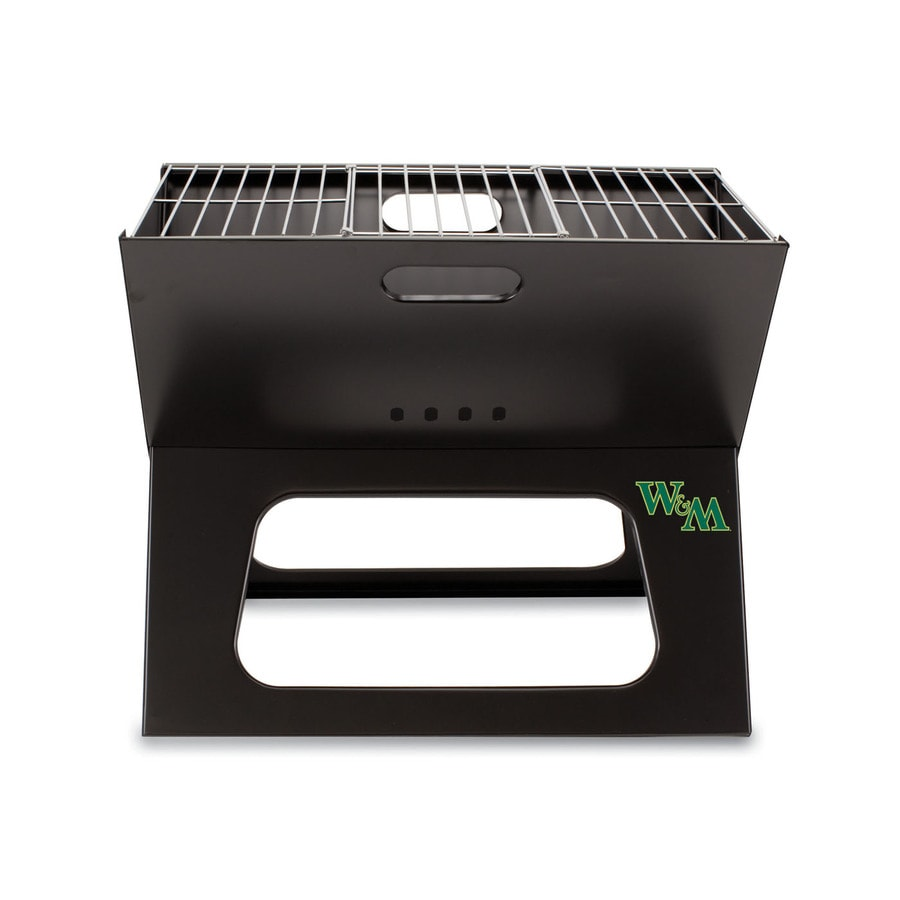 Picnic Time 203.5 Sq.-in William and Mary Tribe Portable Charcoal Grill