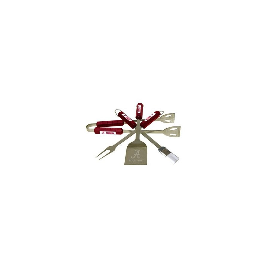 BSI Products 4-Piece University Of Alabama Crimson Tide Stainless Steel Tool Set