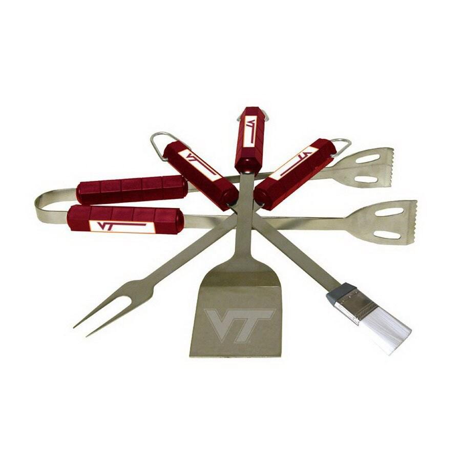 BSI Products 4-Piece Virginia Tech Hokies Stainless Steel Tool Set