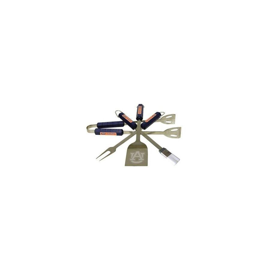 BSI Products 4-Piece Auburn University Tigers Stainless Steel Tool Set