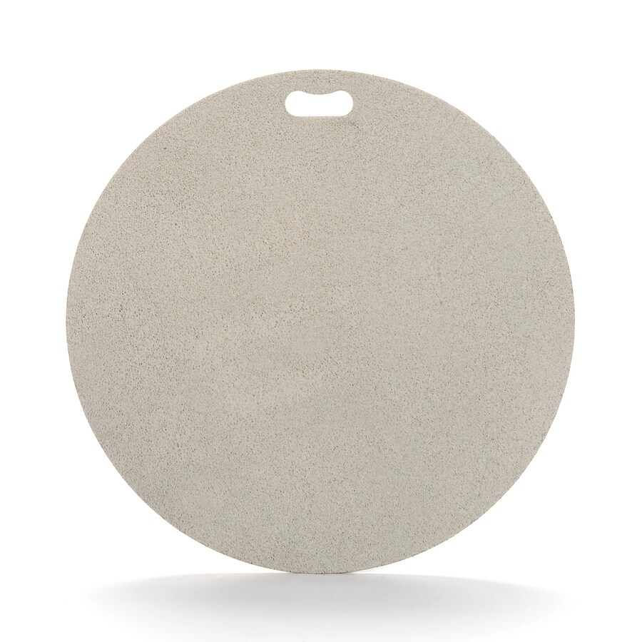 "The ""Original"" Grill Pad Fiber Cement Round Gray Grill Mat"