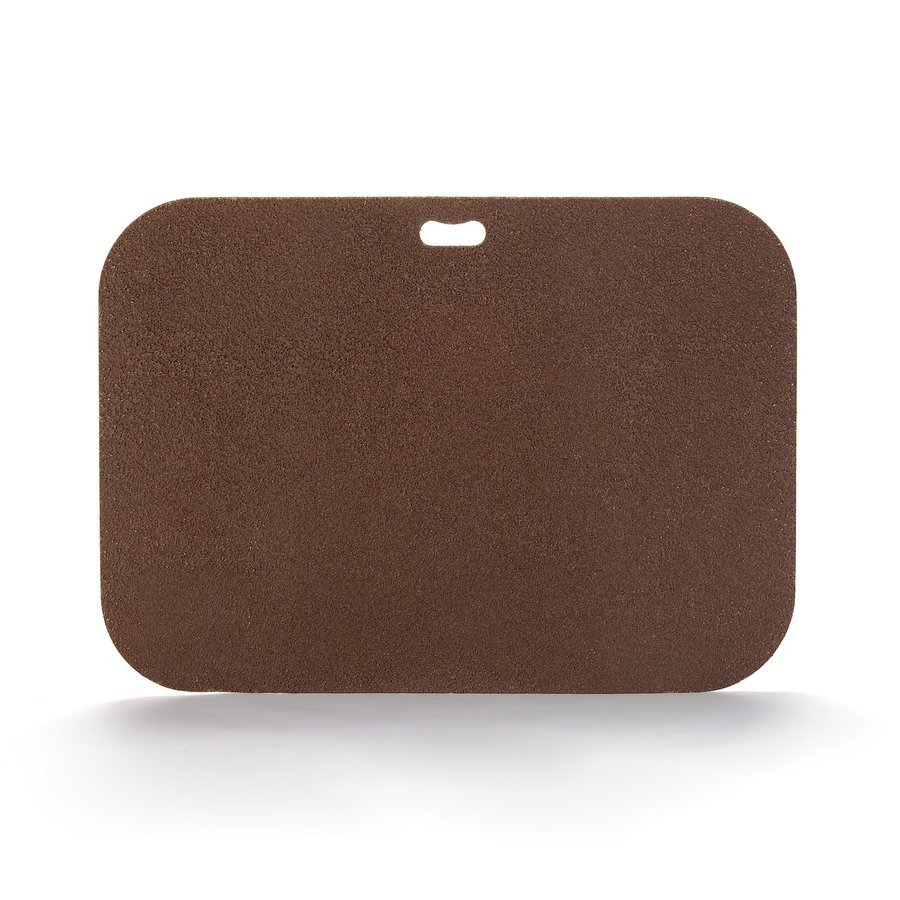 "The ""Original"" Grill Pad Fiber Cement Rectangle Earthtone Brown Grill Mat"