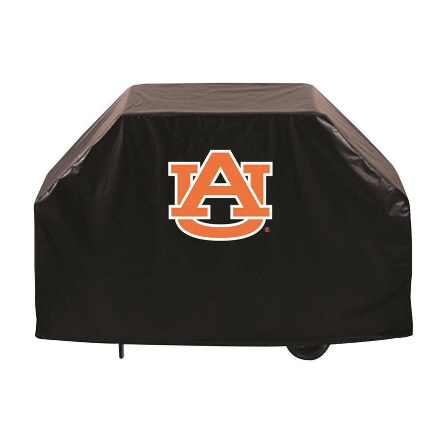 Holland 60-in x 36-in Black Vinyl Auburn University Tigers Grill Cover Fits Most Universal