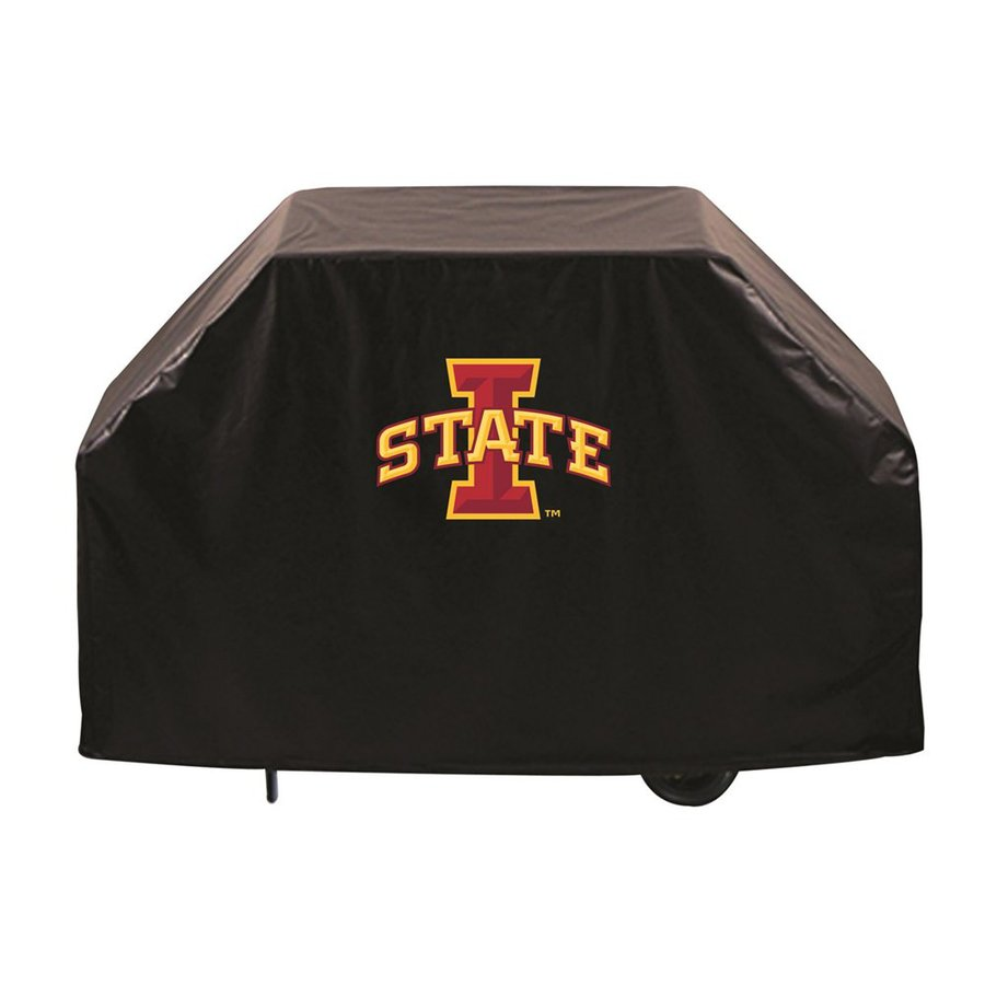 Holland 60-in x 36-in Black Vinyl Iowa State Cyclones Grill Cover Fits Most Universal
