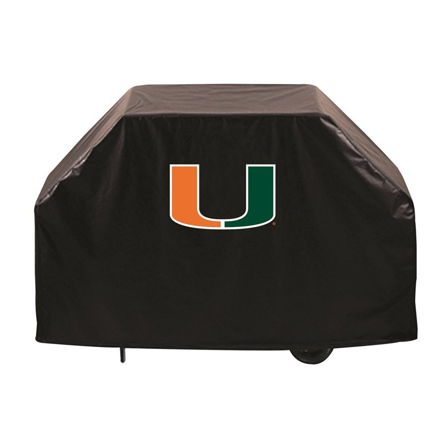 Holland 72-in x 36-in Vinyl University Of Miami Hurricanes Cover